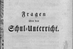 Zürcher Schulumfrage 1771/1772